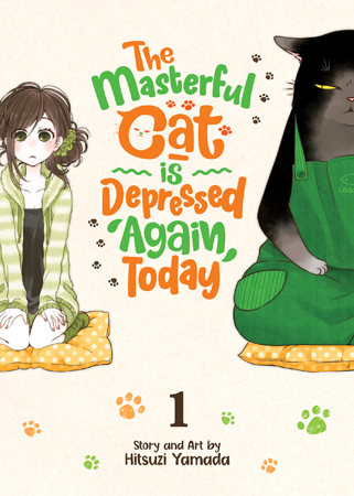 Featured image for The Masterful Cat is Depressed Again Today Vol 1 Review