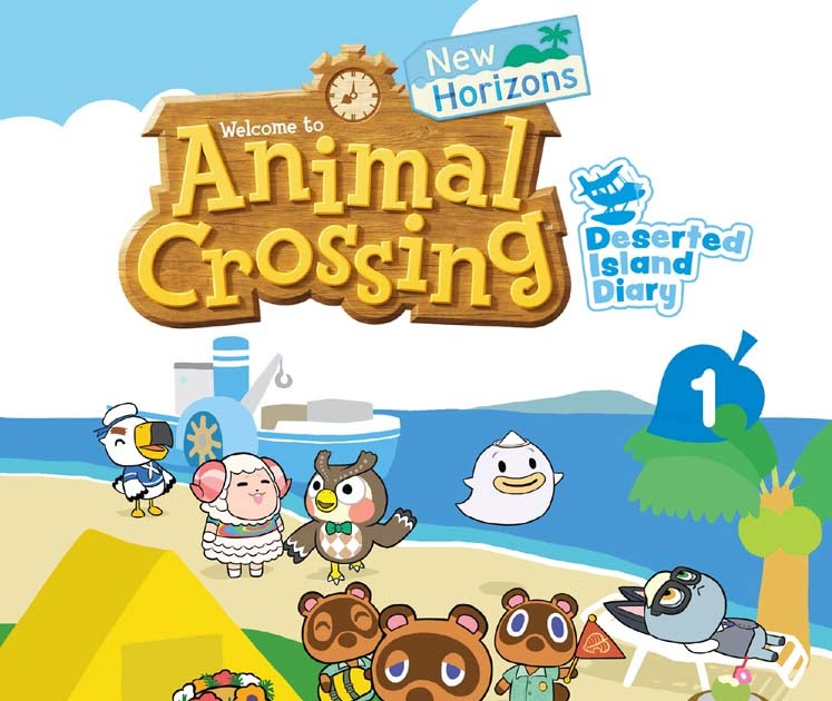 Featured image for Animal Crossing: Deserted Island Diary; Vol 1