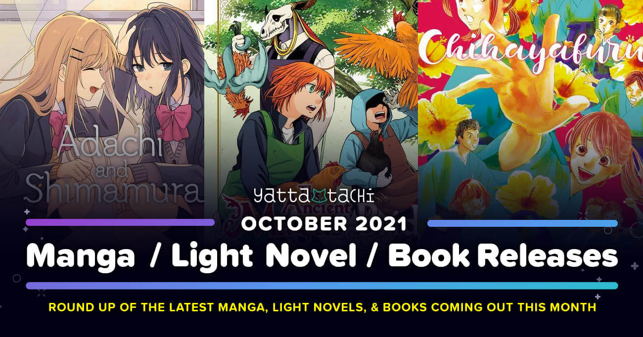 Featured image for October 2021 Manga / Light Novel / Book Releases