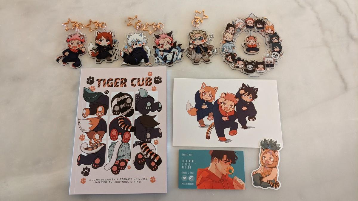 Featured image for JJK Haul – Tiger Cub AU Zine by Lightning Strikes