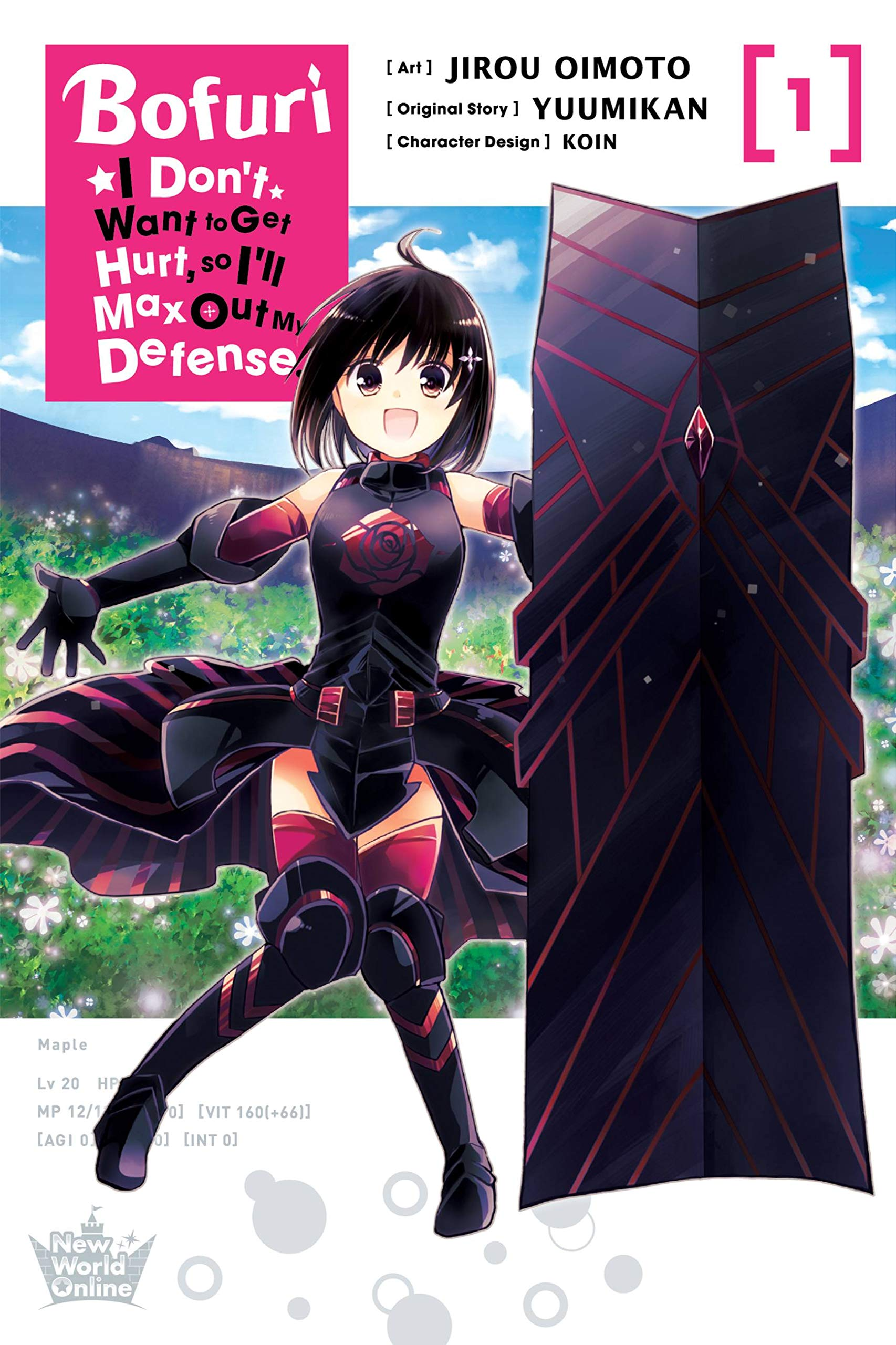 Featured image for Thoughts on Bofuri: I Don't Want to Get Hurt, so I'll Max Out My Defense. Volume 1 (Manga)
