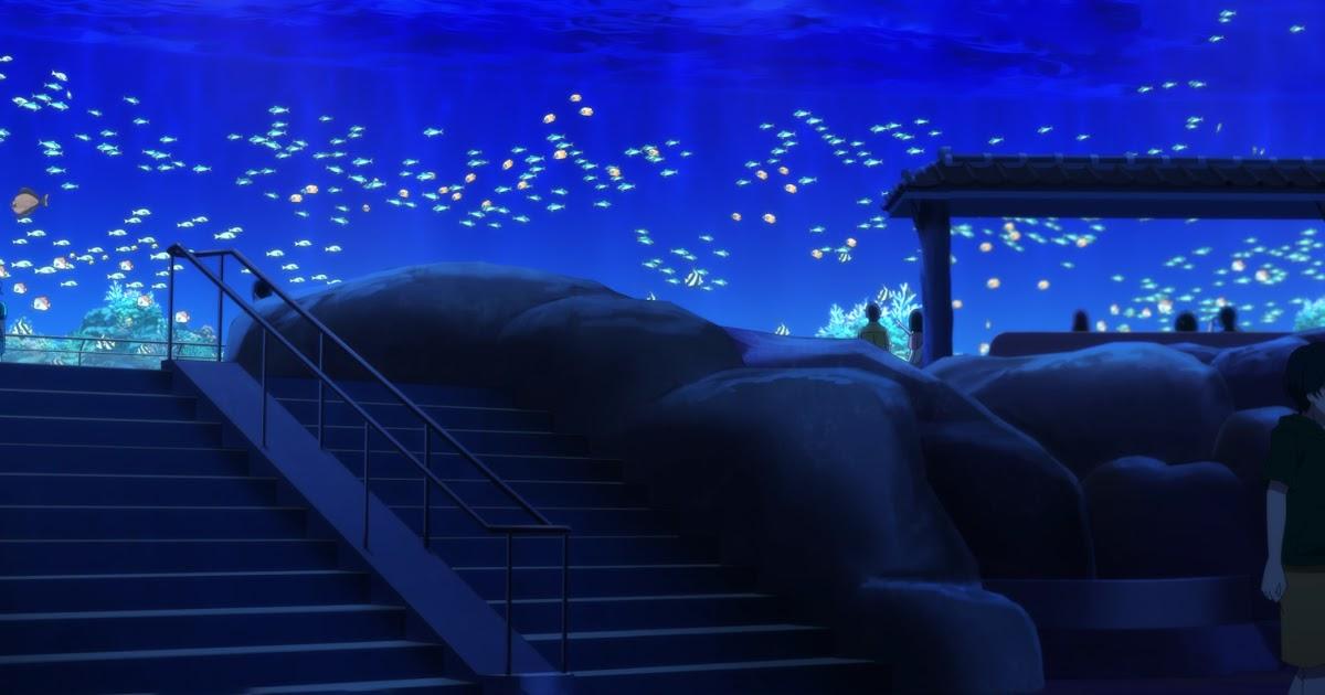 Featured image for Shiroi Suna no Aquatope - Episode 13 - Tingaara Aquarium Main Tank
