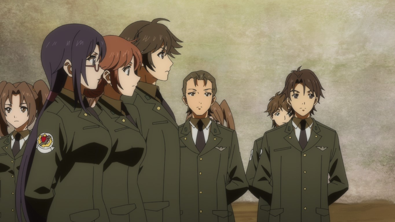 Featured image for Muv-Luv Alternative – Episode 1