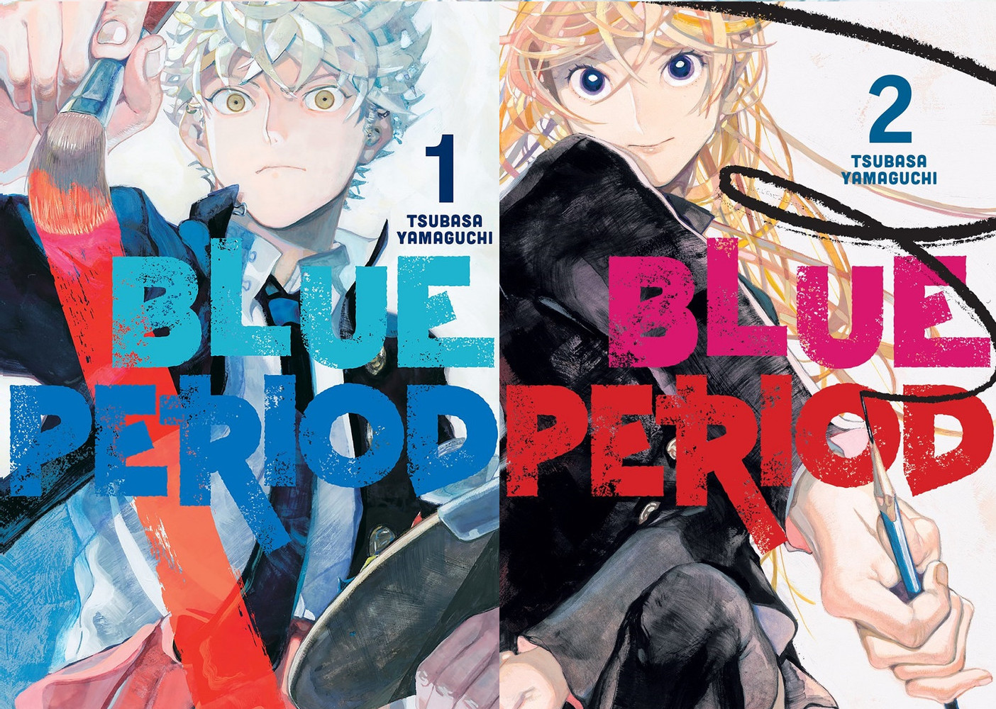 Featured image for Blue Period Volumes 1 and 2 Review