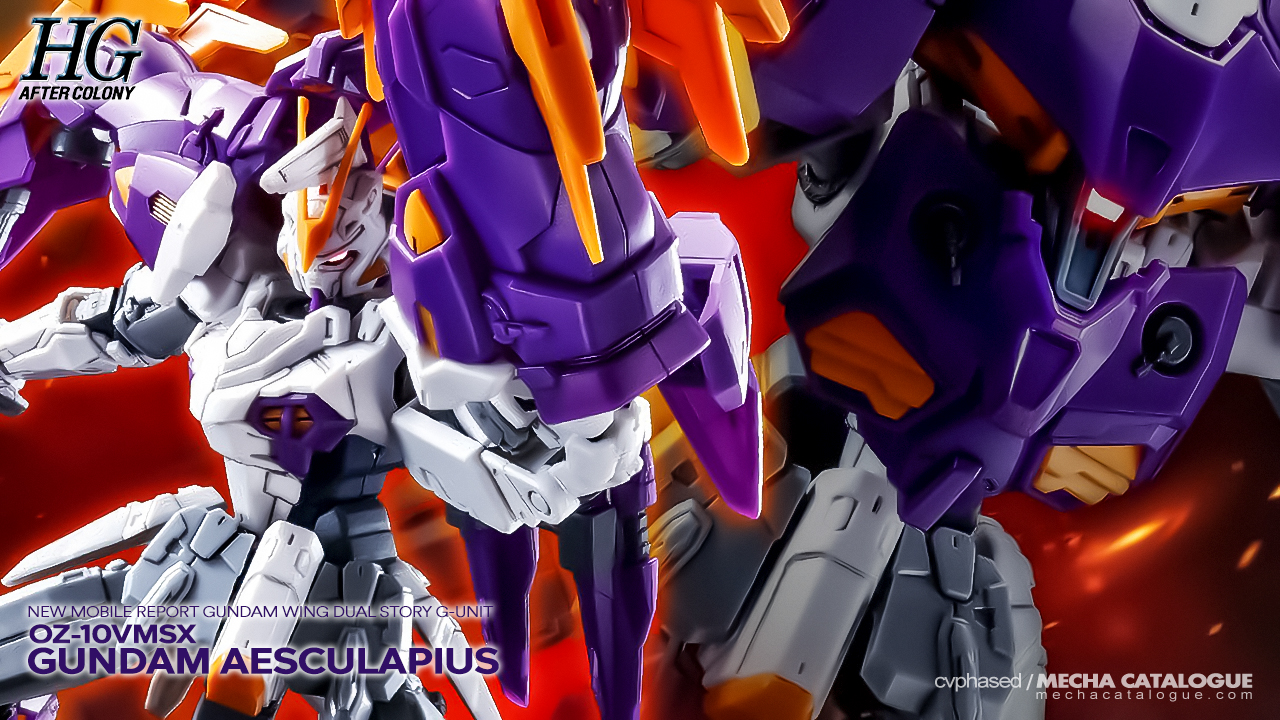 Featured image for Someone's Got More Angles: HGAC Gundam Aesculapius