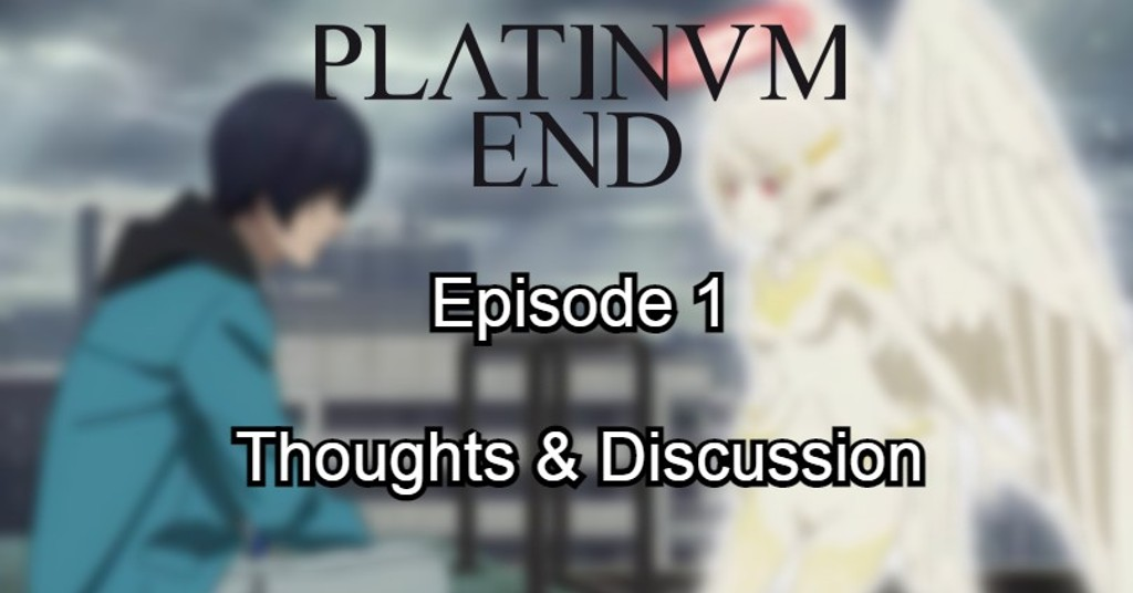Featured image for Platinum End's first episode exceeded my expectations