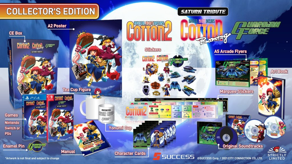 """Featured image for """"Cotton Guardian Force – Saturn Tribute"""" Collector's Edition Announced"""
