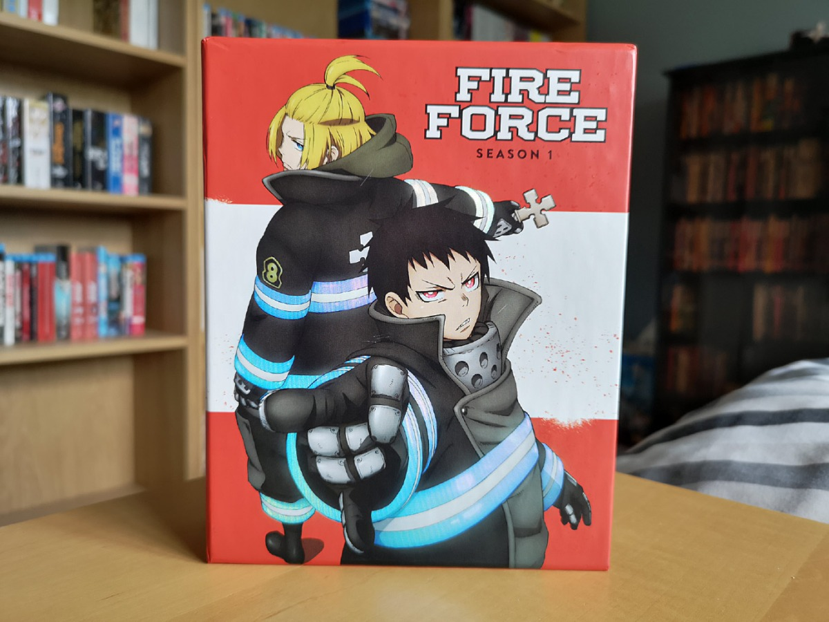 Featured image for Fire Force Season 1 Parts 1 & 2 (Limited Edition Blu-ray & DVD) Unboxing
