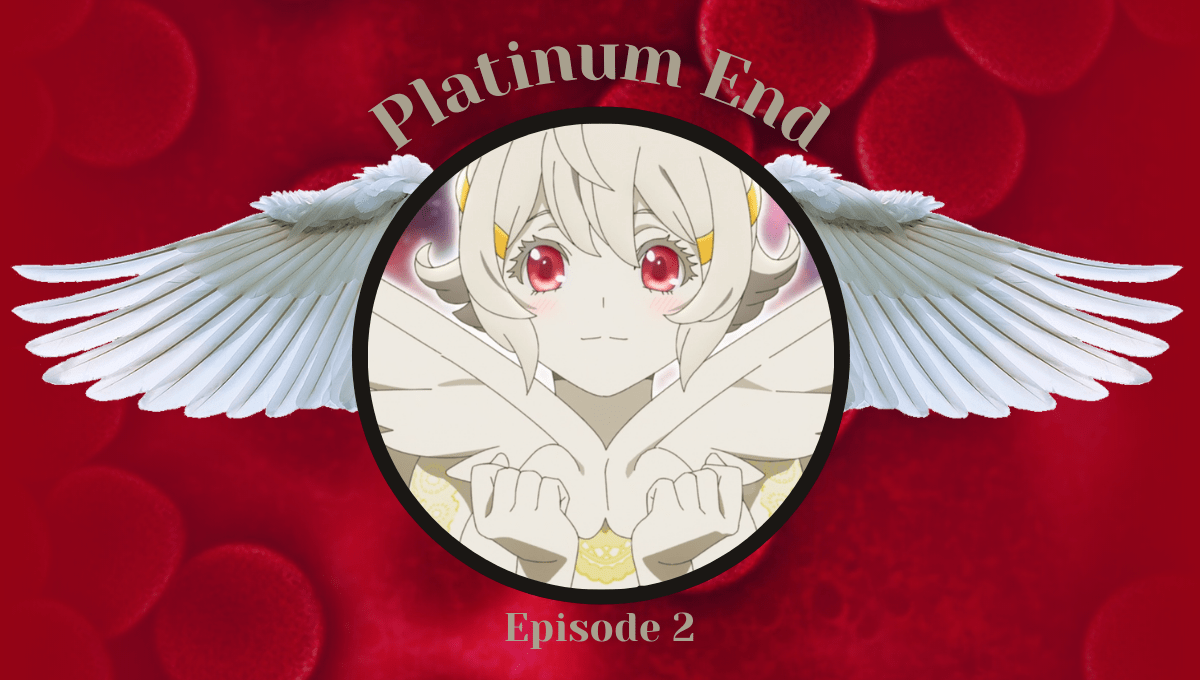 Featured image for Platinum End Episode 2 Review – Here's a Crazy Idea