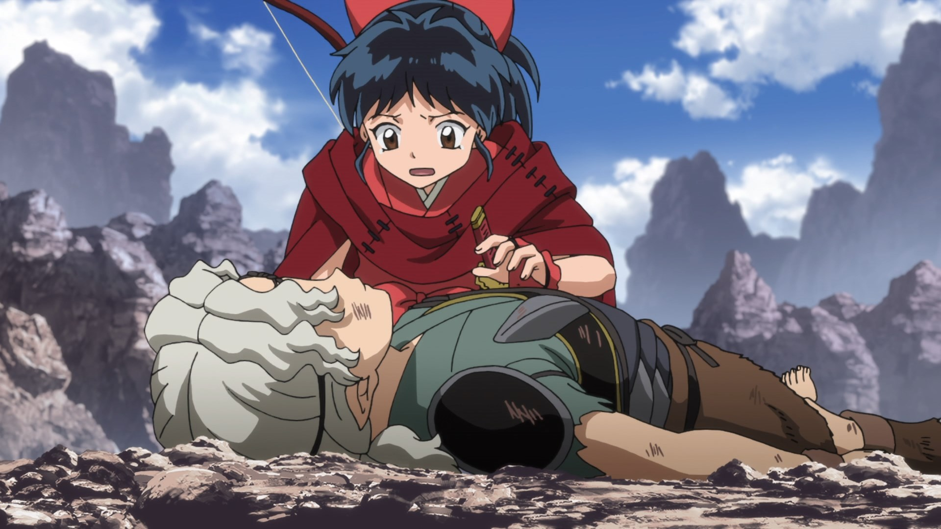 Featured image for Yashahime: Princess Half-Demon 16 (Moroha Love)