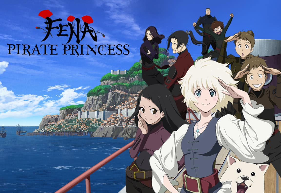 Featured image for Next Week!! A Founder's Review with D.J. Lewis: Fena: Pirate Princess!