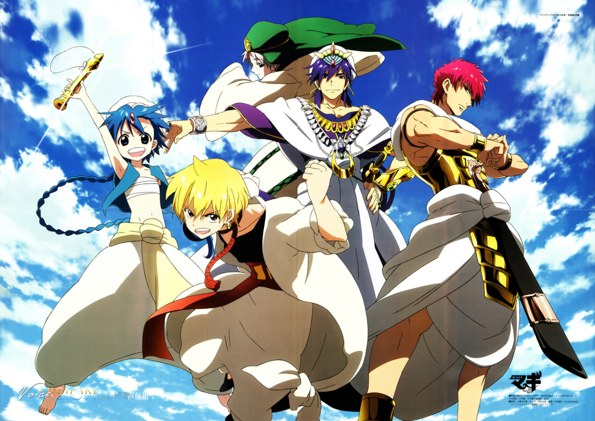 Featured image for How to Watch The Magi Anime in Order