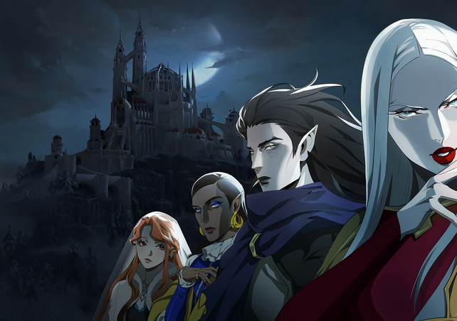 Featured image for 3 anime to watch if you love Castlevania!