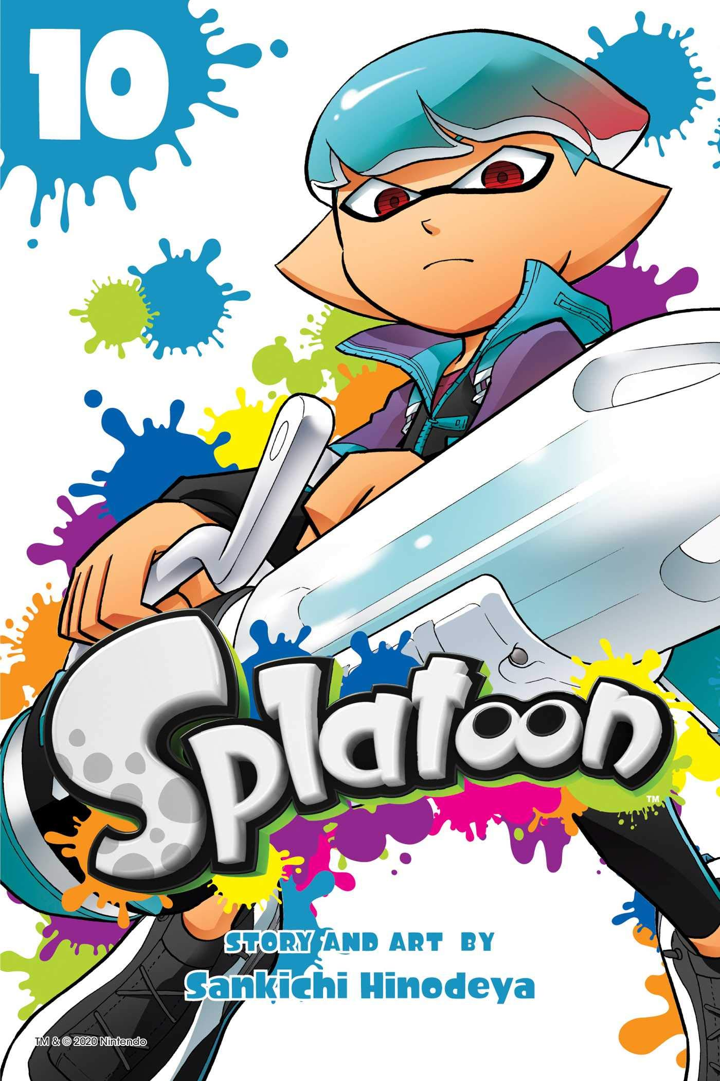 Featured image for Thoughts on Splatoon Volume 10