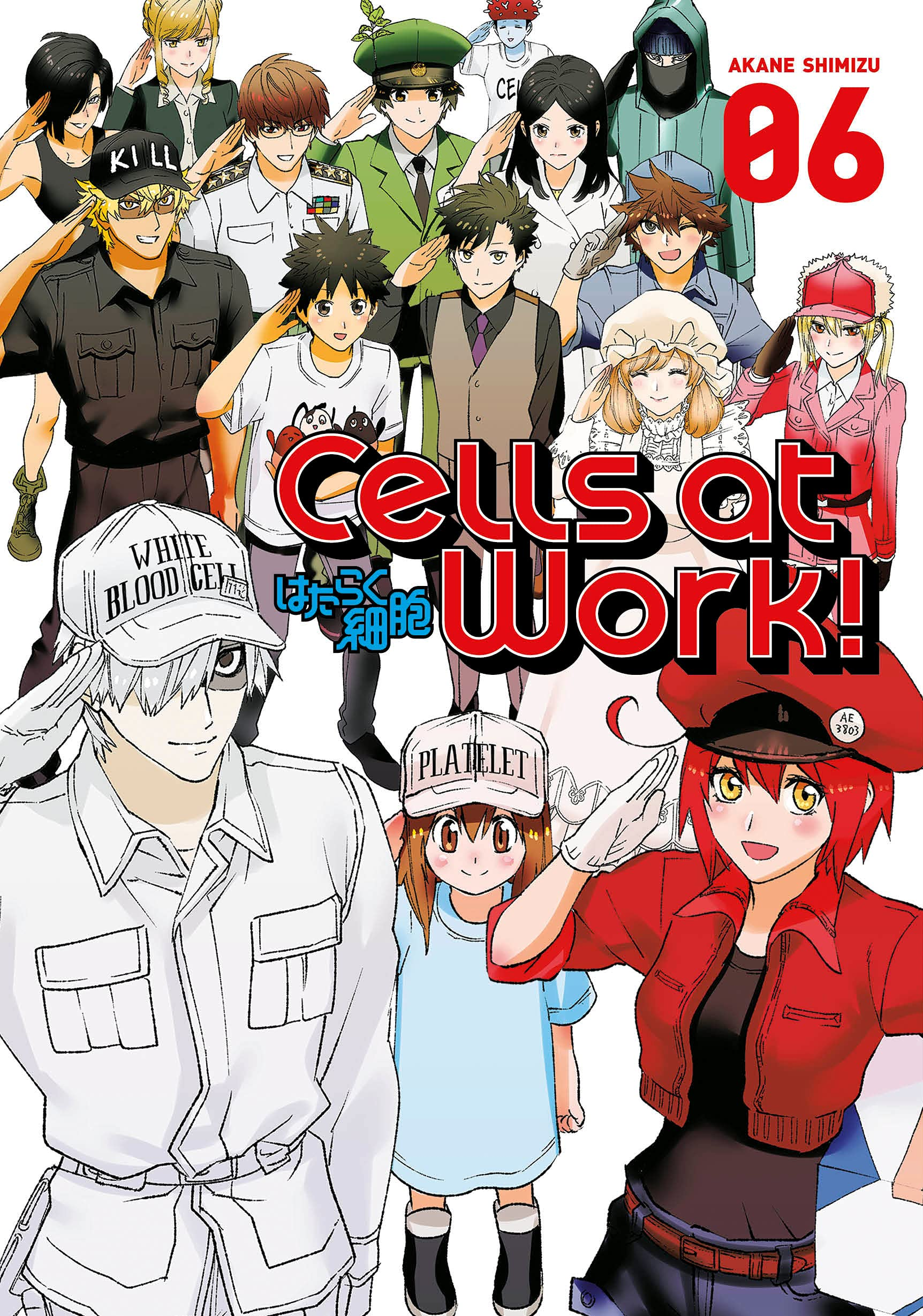 Featured image for Thoughts on Cells at Work! Volume 6