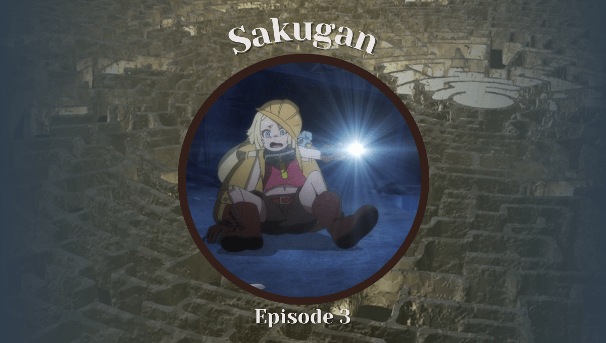Featured image for Sakugan Episode 3 – The Back-Seat Driver From Hell