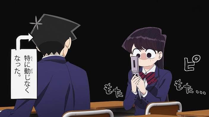 Featured image for Komi-san wa Komyushou desu – 03